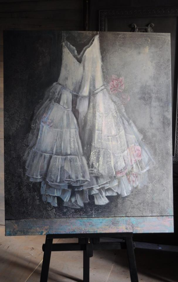 Bohemia painting acrylic
